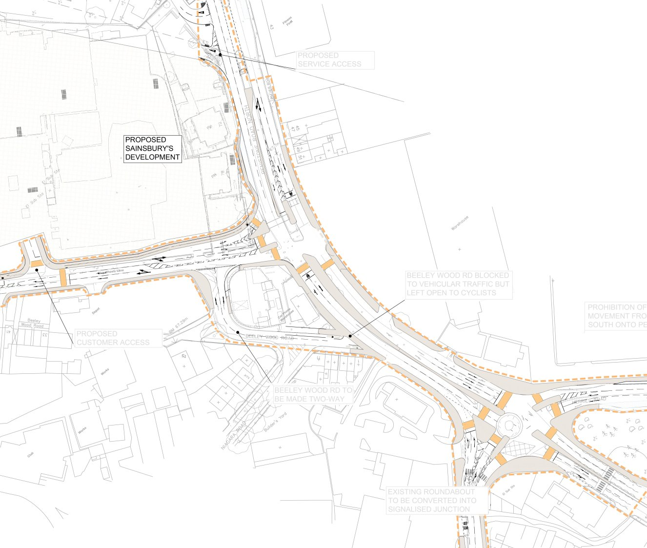 Outline Highway Drawings