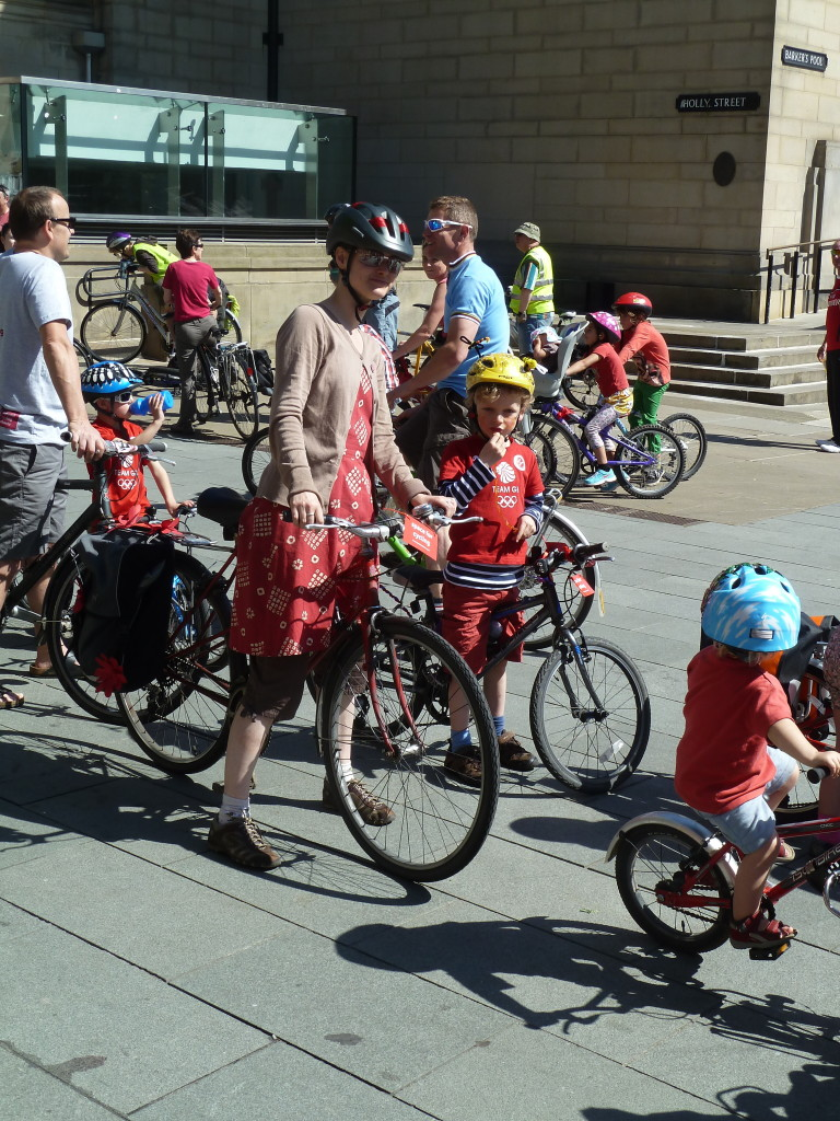 #space4cycling - Freedom for families in Sheffield