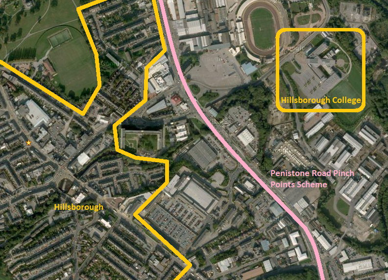 Penistone Road Pinch Points Overview