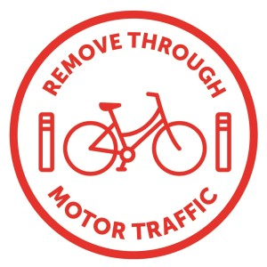 Remove Through Motor Traffic