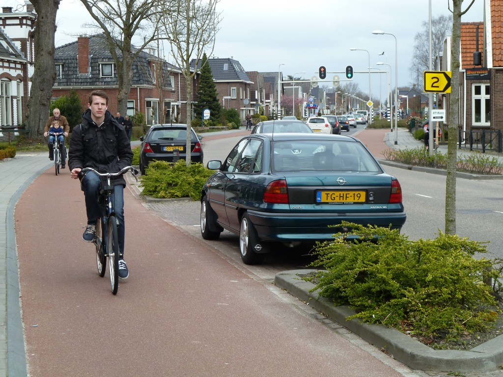 Cycling in Assen